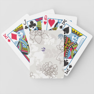 Botanical Abstract Bicycle® Playing Cards