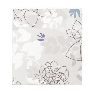 Botanical Abstract Notepad
