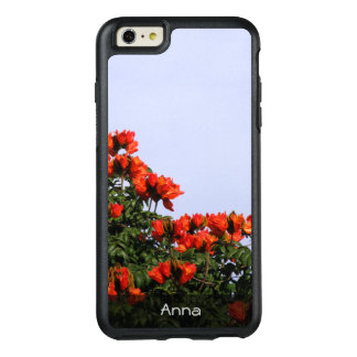 Botanical African Tulip Tree Photo any Text OtterBox iPhone 6/6s Plus Case
