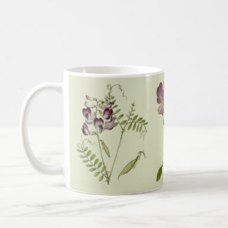 Botanical Alpine Wildflower Flowers Coffee Mug