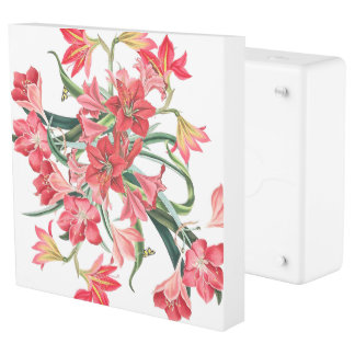 Botanical Amarylis Flowers Inlet Outlet Cover