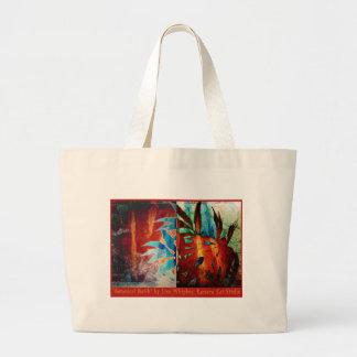 Botanical Batik Jumbo Tote Bag