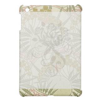 botanical bliss art nouveau art iPad mini covers