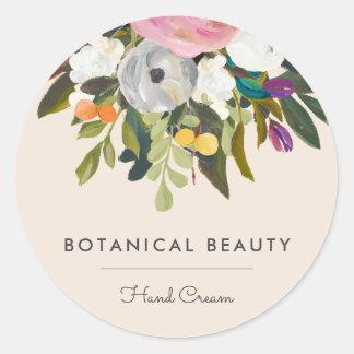 Botanical Bliss Circle Stickers Option 2