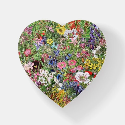 Botanical Bloom Nature Wildflower Paperweight