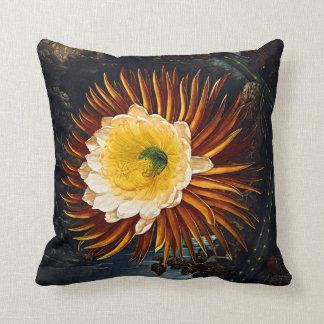 Botanical Blooms Night Blowing Cereus Cushions Pillow