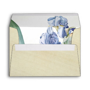 flowers by redoute envelopes zazzle