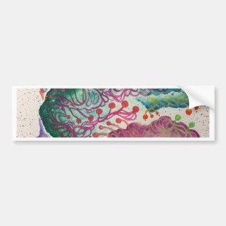 Botanical Breath Watercolor Bumper Sticker