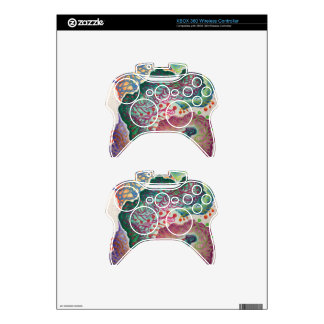 Botanical Breath Watercolor Xbox 360 Controller Skins