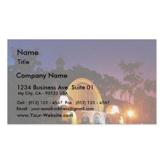 Botanical Building Business Cards