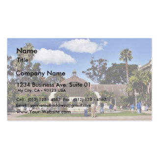 Botanical Building In Balboa Park In San Diego Business Card