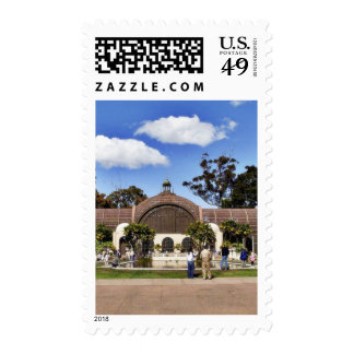 Botanical Building In Balboa Park In San Diego Postage