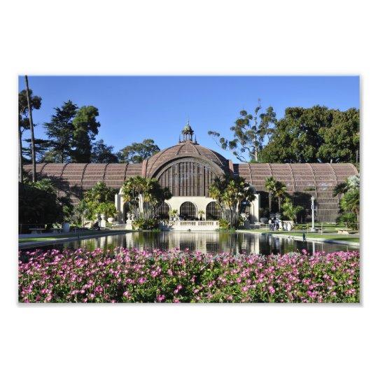 Botanical Building Photo Print