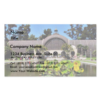 Botanical Buildings Arboreum Double-Sided Standard Business Cards (Pack Of 100)