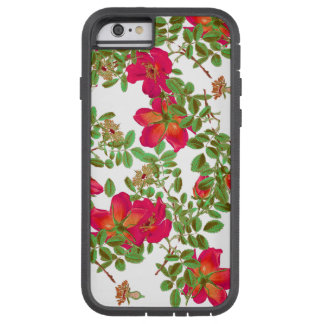 Botanical Cabbage Rose Flowers Floral Tough Xtreme iPhone 6 Case