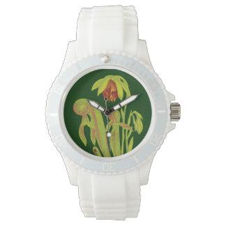 Botanical Carnivorous Cobra Plant Wrist Watch