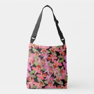 Botanical Cattleya Orchid Flowers Floral Tote Bag