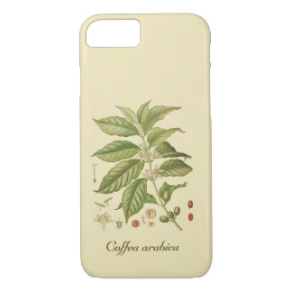 Botanical Coffee Plant, iPhone 7, Barely There iPhone 8/7 Case