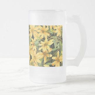 Botanical Daisy Flowers Floral Mug
