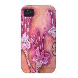botanical fantasy iPhone 4/4S cases