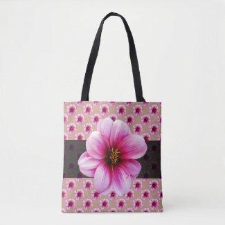 Botanical Floral Pink on any Color