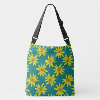 Botanical Floral Yellow on any Color