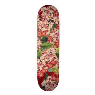 Botanical Flowers Floral Garden Vintage Skateboard Deck