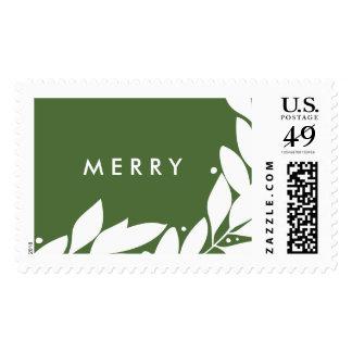 Botanical Frame Postage Stamp