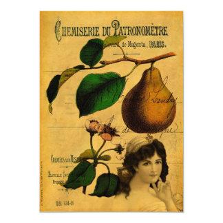 Botanical Fruit Card