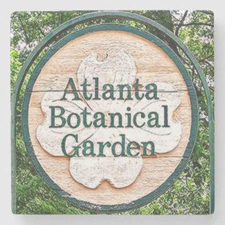 Botanical Garden Atlanta Landmark Marble Stone Coa Stone Coaster