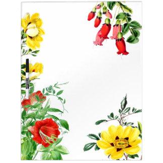 Botanical Garden Flowers Floral Message Board