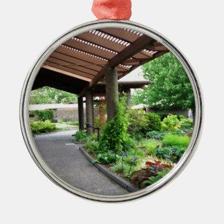 Botanical Garden Nature Lovers Paradise Metal Ornament
