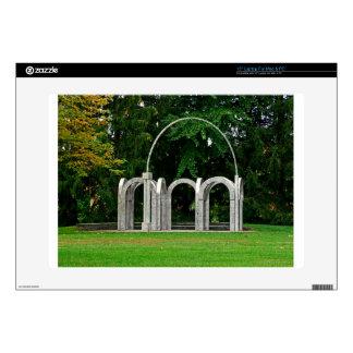 """Botanical Gardens Arch 15"""" Laptop Skins"""