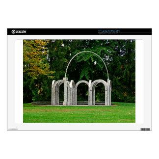 Botanical Gardens Arch Laptop Decals
