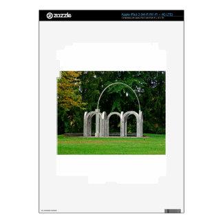 Botanical Gardens Arch Skin For iPad 3