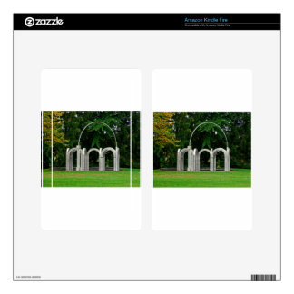 Botanical Gardens Arch Skin For Kindle Fire