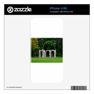 Botanical Gardens Arch Skins For iPhone 4S