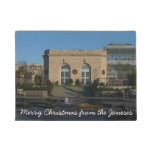 Botanical Gardens at Christmas in Washington DC Doormat