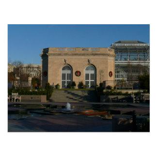 Botanical Gardens at Christmas in Washington DC Postcard
