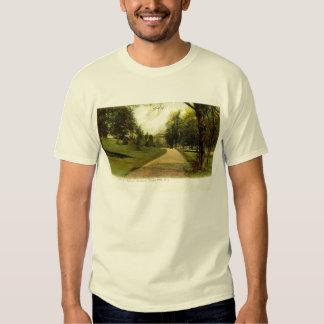 Botanical Gardens, Bronx New York 1905 vintage T-shirt