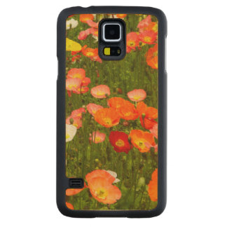 Botanical gardens carved® maple galaxy s5 slim case