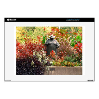 "Botanical Gardens Decals For 15"" Laptops"