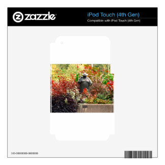 Botanical Gardens iPod Touch 4G Decals