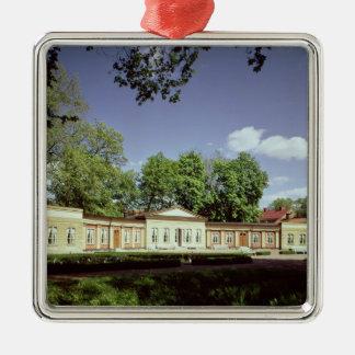 Botanical Gardens Orangery Metal Ornament