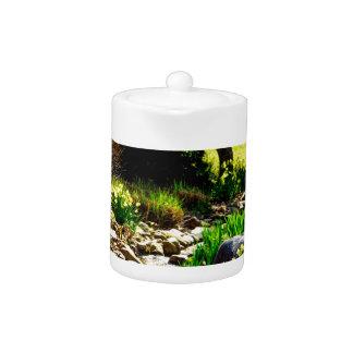 botanical gardens teapot