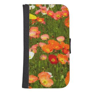 Botanical gardens wallet phone case for samsung galaxy s4