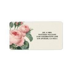 Botanical Glamour   Address Label