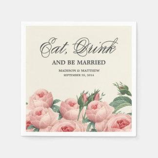 Botanical Glamour | Personalized Paper Napkins