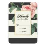 Botanical Glamour | Wedding Response Card