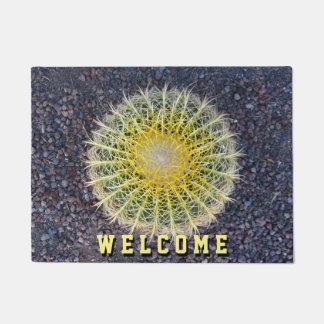 Botanical Globe Cactus Needles Photo Doormat